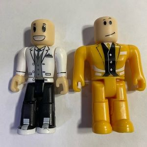 Two Roblox Action Figures 3""